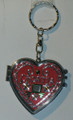 ****Keychain with LICITARSKA SRCA (Croatian Heart) with Double Mirror: NEW! Imported from Croatia!
