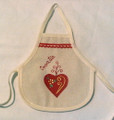 "*Wine Bottle Apron, LICITAR with ""Croatia,"" Imported from Croatia: NEW!"