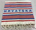 "Peshtemal Towel: ""HRVATSKA"" with Exclusive Šahovnica Design, Perfect for Bath, Sauna, Beach, Gym, Pool : NEW! ONLY 4 LEFT AT PRE-ORDER PRICE! SOLD OUT"
