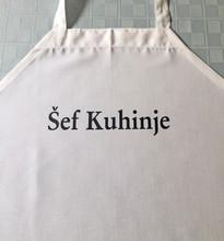 Šef Kuhinje /Chef (Chief) of the Kitchen