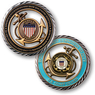 CORE VALUES - U.S. COAST GUARD COIN
