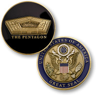 PENTAGON - GREAT SEAL COIN