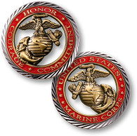 CORE VALUES - U.S.MARINES COIN