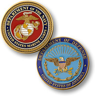 Marine Corps - Coin
