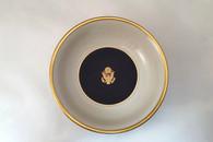 Pickard Cobalt Blue Candy Dish/Gold Crest