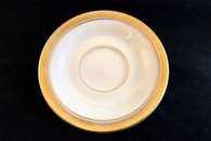 Pickard Gold Coupe Saucer