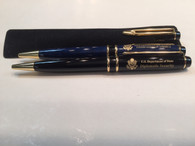 Ballpoint Pen w/ Pouch - Diplomatic Security Logo