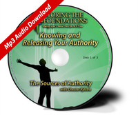 Knowing and Releasing Your Authority  Mp3 Download