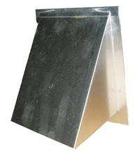"4"" Dryer Vent Hood with Damper (DWVA 4 HDO)"
