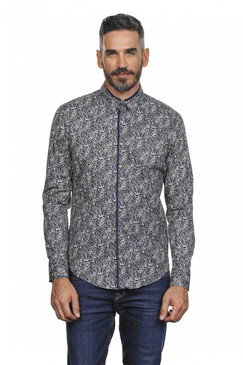 Slim Fit Classic Floral Shirt