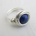 Large Nested Lapis Lazuli Ring