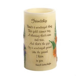 """FRIENDSHIP"" HEARTNOTES CANDLE"