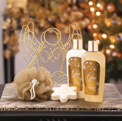 ANGEL CHRISTMAS BATH SET