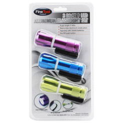 LED FLASHLIGHT TRIO