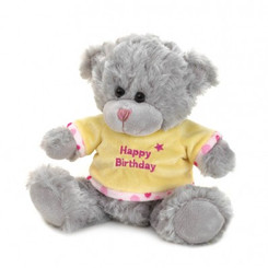 HAPPY BIRTHDAY PLUSH BEAR