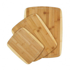 CUTTING BAMBOO BOARDS TRIO