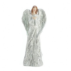 WINTER ANGEL STATUE