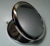 Round Push Button Compact Mirror