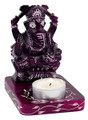 Violet Ganesh Tealight Holder