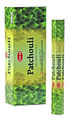 Hem Patchouli Incense 8 stick square pack