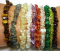 Gemstone Chip Stretch Bracelet