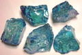 Aqua Aura Ice Blue Quartz APPROX 30-40 mm