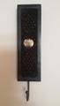 black bead hanger
