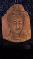 large sandstone Buddha