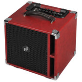 Phil Jones Bass PJB Suitcase Compact front isometric - red