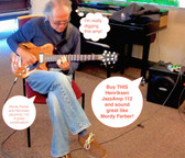 Henriksen JazzAmp 112 DEMO played by Mordy Ferber at Seattle Jazz Guitar Society Clinic September 2014