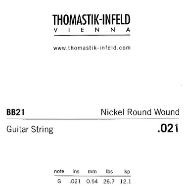 Thomastik-Infeld Roundwound Single String 0.021 roundwound