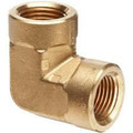BRASS ELBOW 1/2 FPT X 3/8 FPT