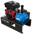 Fury 2400, Compact Vacuum Unit - 20HP Honda Electric Start - 355 CFM