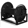 "Summit 12"" Manual Hose Reel 1"" Plumbing - Black"