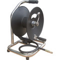 GENERAL PUMP 100' HAND CARRY HOSE REEL ON BASE, 5000 psi