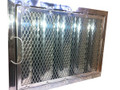 20x25x2 Spark Arrest Kleen Gard Stainless Steel Filter w/Bale handles and J-Hooks