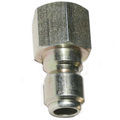 "QC PLUG 1/4"" FNPT STEEL PLATED"