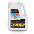 XSORB Caustic Neutralizing Absorbent Bottle 6 qt. (Case of 2)