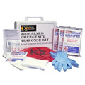 XSORB Wall-Mountable Biohazard Response Case with 4 Clean Up Kits (6 Cases)