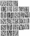 Celtic Knot Monogram U