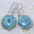 Solar Agate Earrings 005