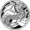 Celtic Dragon of Water