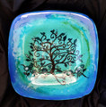 Family Tree Platter Shades of Blue 001