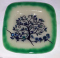 Family Tree Platter Shades of Green and blue 001
