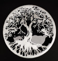 Family Tree Dish Black & Silver 001