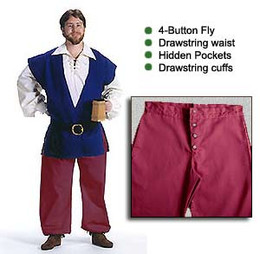 Long Breeches Twill
