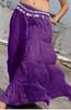 Seven Yard Gypsy Skirt in Purple
