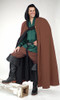 Wool Cloak with Hood