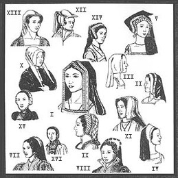 Tudor Era Headress Patterns for Women