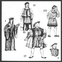 Early Tudor Patterns for Men